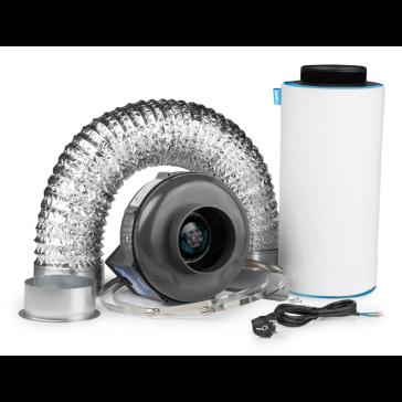 Ventilution Lüftungsset 250, inkl. PK Rohrventilator 125AL, 230/360 m³/h und Zubehör