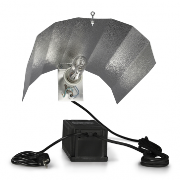 SPP System 400W + GIB Lighting Flower Spectrum Pro 400W + Mithralit-Reflektorkappe