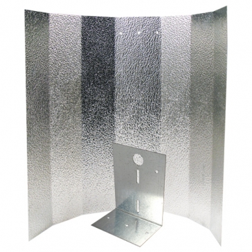 Reflektorkappe, Stucco, klein, 40 x 50 cm, Bügel verstärkt für Energiesparlampe