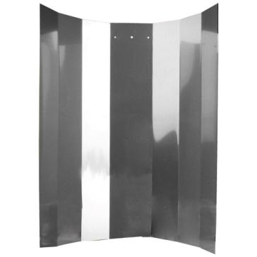 Reflektorkappe, Hochglanz, 50 x 50 cm