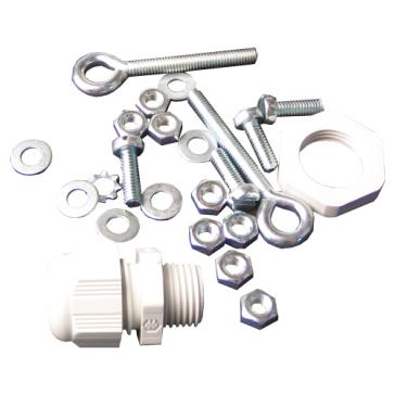 Schraubensatz mit Kabelverschraubung, Größe M4
