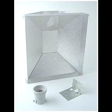 Powerluxreflektor, Stecksystem für die optimale Lichtkonzentration, inkl. Fassung und Kabel