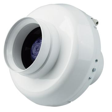 Ventilution Rohrventilator, 460 m³/h, für 150-160 mm Rohr, Kunststoff