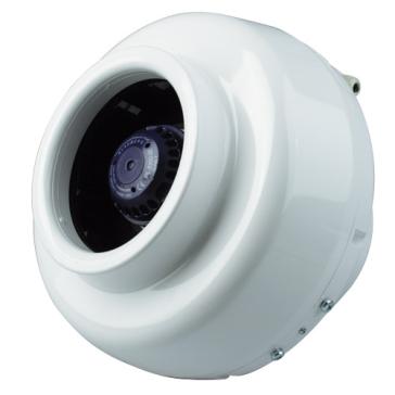 Ventilution Rohrventilator, 780 m³/h, für 200 mm Rohr, Kunststoff