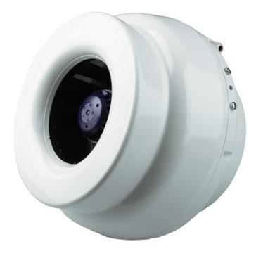 Ventilution Rohrventilator, 1340 m³/h, für 315 mm Rohr, Kunststoff