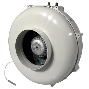 PK Rohrventilator, 400 m³/h, für 125/100 mm Rohr, integrierter temperaturabhängiger Drehzahlregler