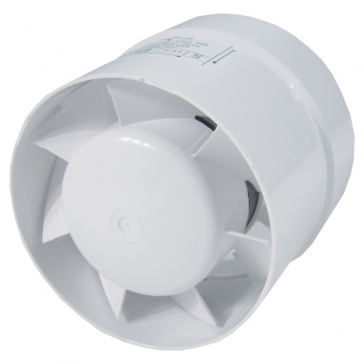 Ventilution Axiallüfter für 100 mm Rohr mit Stufenanschluss