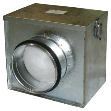 Ventilution Luftfilter-Box, ø = 125 mm