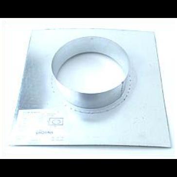 Wandflansch, Metall, für ø 160 mm