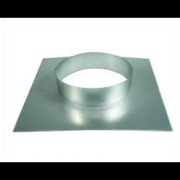 Wandflansch, Metall, für ø 200 mm