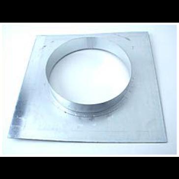 Wandflansch, Metall, für ø 250 mm