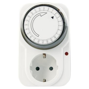Mechanische Zeitschaltuhr ohne Abdeckung