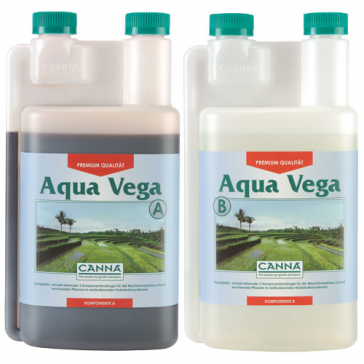 CANNA Aqua Vega A und B, je 1 L