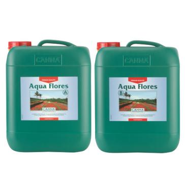 CANNA Aqua Flores A und B, je 10 L