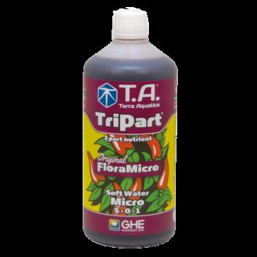 T.A. TriPart Micro, Weiches Wasser, 1 L  (GHE Flora Micro)