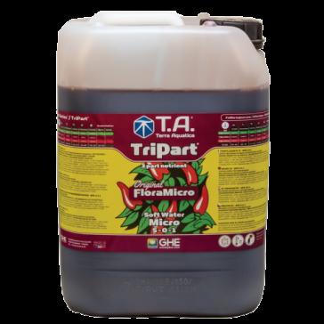 T.A. TriPart Micro, Weiches Wasser, 10 L  (GHE Flora Micro)