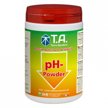 T.A. pH Down Pulver, 1 L