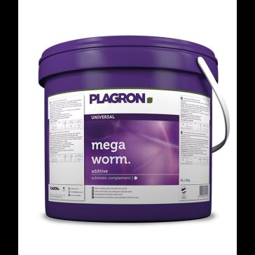 Plagron Mega Worm, natürlicher Stickstofflieferant, fein gesiebt, 5  L