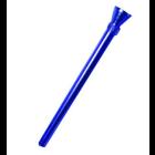 Eloxiertes Alushillum, Kopf und Rohr, L = 15,5 cm
