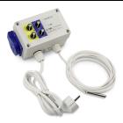 GSE Water Timer, Bewässerungszeitschaltuhr inkl. Tag und Nacht Lichtsensor, 8 A, 230 V, 50 Hz