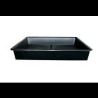 Garland Pflanzschale schwarz 80 x 80 cm