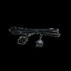 IEC Verlängerungskabel, männlich auf weiblich, 4 m, ø 1,5 mm