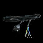 IEC Anschlusskabel, weiblich auf Aderendhülsen, 4 m, ø 1,5 mm²