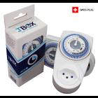 Tempo Box TBOX 1M, mechanische Zeitschaltuhr - CH-Stecker, 230 V, max. 3500 W Leistung, IP20