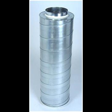 Silencers for ventilation duct, ø 200 mm, L = 90 cm